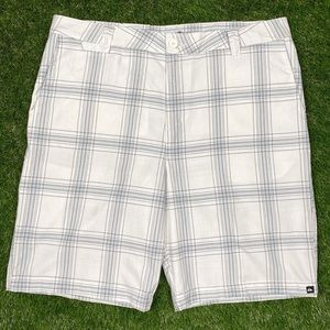 Quiksilver Vintage Checkered Plaid Shorts